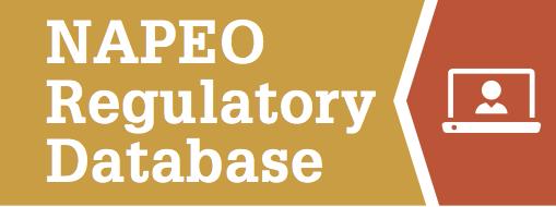 NAPEO Regulatory Database Icon